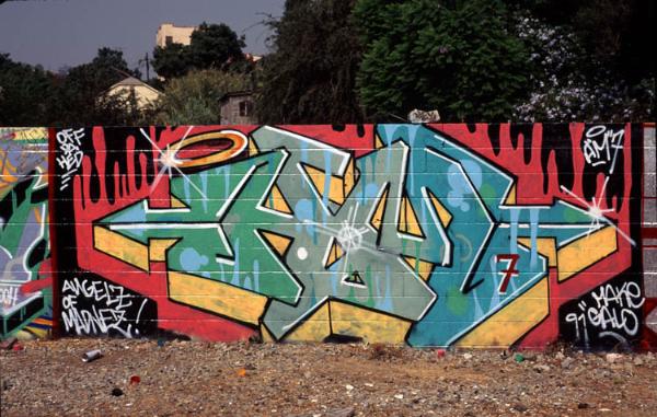 Old school graffiti by Galo Make