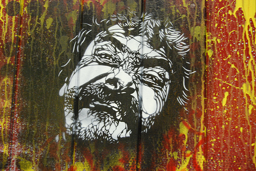 Stencil by C215