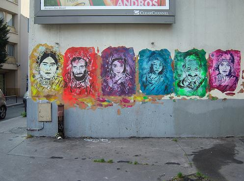 Various stencil by C215