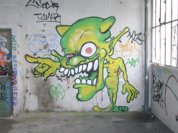 Graffiti Characters By...