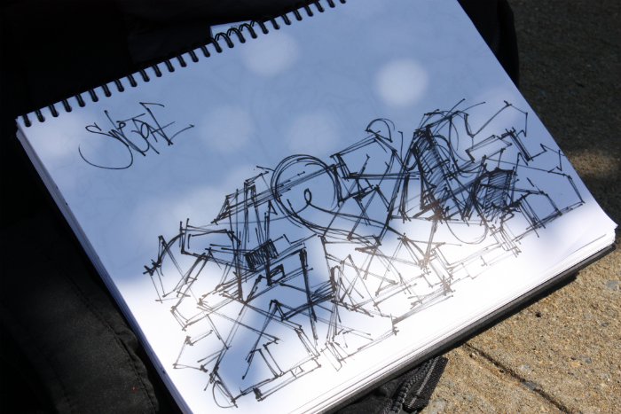 Swet sketch graffiti