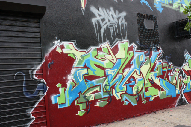 Ewok graffiti piece bronx