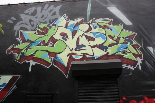 Cope2 bronx graffiti fatcap